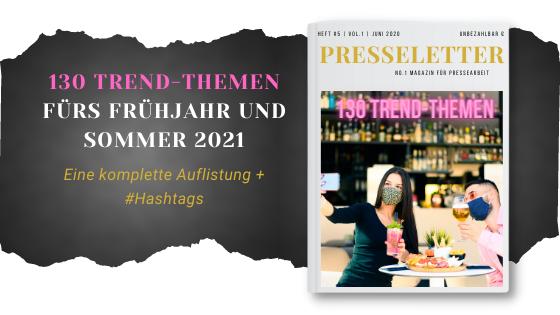 Cover 130 Trend-Themen 2021