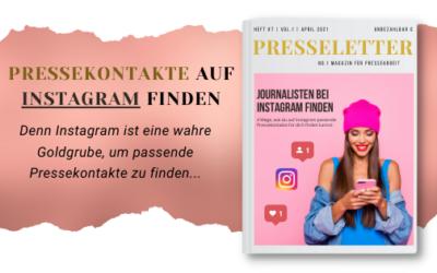 4 Tipps, Journalisten und Pressekontakte auf Instagram zu finden